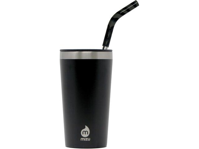 MIZU 16 Enduro LE Tumbler with Grey Straw enduro black